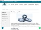 Gear Shaving Cutters   Gear Shaving Cutters Manufacturers   STC Gear Tools