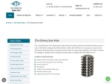 Pre Gear Skiving Hobs Manufacturer | Gear Cutting Tools