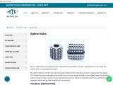 Parallel Spline Hobs   Spline Hob Manufacturers