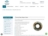 Timing Pulley Shaper Cutter manufacturer | Super Tools Corporation