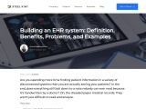 Building an EHR system: Definition, Benefits, Problems, and Examples