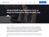 What Is Staff Augmentation in IT, or Ways of Closing the Recruitment Gap