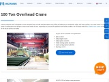 Getting Big Jobs Completed With A 100 Ton Overhead Crane