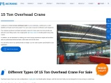 The Best Way To Buy A 15-Ton Overhead Crane