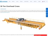 Various Kinds Of 30 Ton Overhead Cranes Available