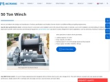 Various Uses Of 50 Ton Winches Available For Purchase
