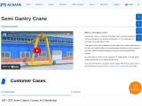 Features Of The Semi Gantry Crane