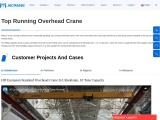 Getting To Know The Most Notable Running Overhead Crane Options