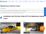 Improve Efficiency In The Workplace By Getting A Warehouse Gantry Crane