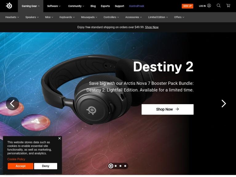 SteelSeries screenshot