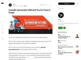 LinkedIn Automation Will Fail If You Do These 6 things