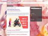 How to check if a motorbike is stolen – CarDotCheck