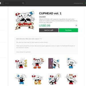 CUPHEAD vol. 1 – LINE stickers | LINE STORE