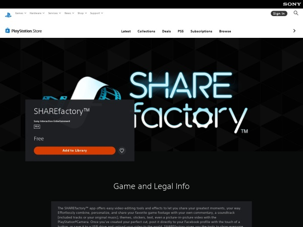 SHAREfactory - 10 Best Apps for Playstation You Should Install (2020)