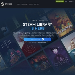 The New Steam Library
