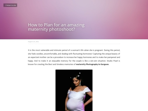 How to Plan for an amazing maternity photoshoot?