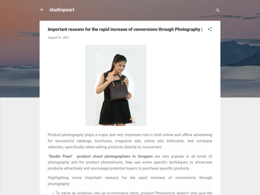Important reasons for the rapid increase of conversions through Photography  