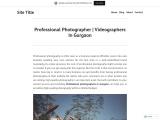 Professional Photographer | Videographers In Gurgaon