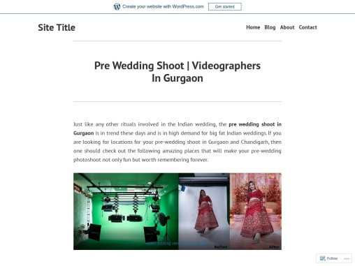 Pre Wedding Shoot  | Videographers In Gurgaon