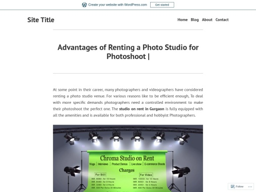Advantages of Renting a Photo Studio for Photoshoot |