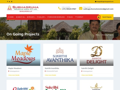 vuda plots for sale in pendurthi   vuda approved plots for sale in Vizag   Subhagruha Projects
