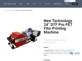 Chinese Manufacturer UV DTF printing