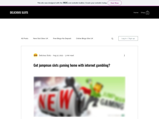 Get jumpman slots gaming home with internet gambling?