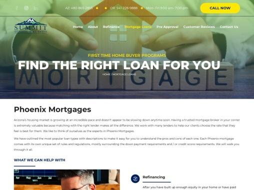 Phoenix Mortgage – Summit Lending Solutions LLC