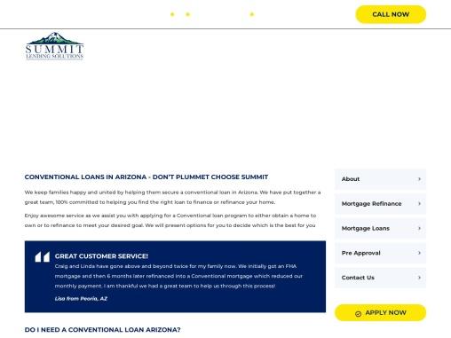 Apply Conventional Loans Phoenix, Arizona