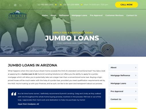 Jumbo Loan in Phoenix, AZ – Summit Lending Solutions LLC