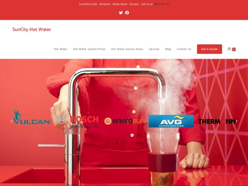 SunCity Hot Water Systems Brisbane