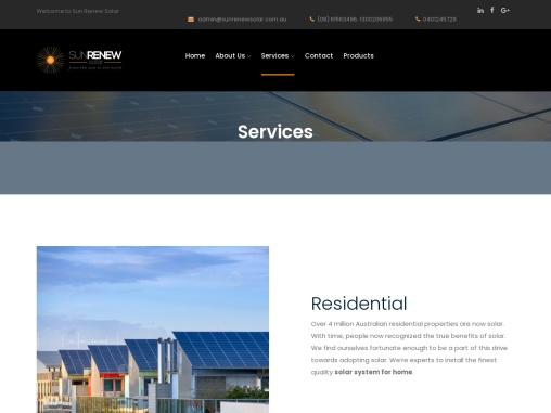 Residential Solar Panel Installation Perth