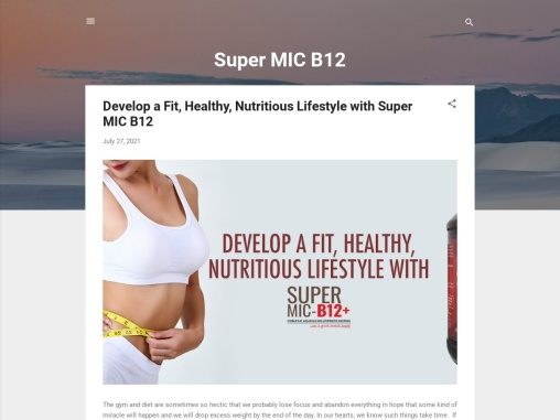 Lose Weight up to 10 to 15 Kg in a Month With B12 MIC Shot
