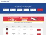 Cheapest Flights from Delhi to Kolkata