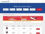 Mumbai to Delhi Flights on SuperbMyTrip