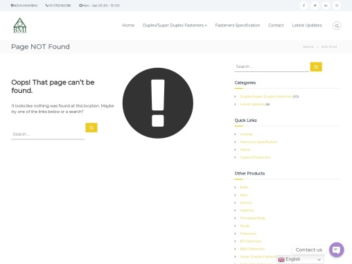 Duplex Steel 2304 Bolts and Nuts Manufacturers in India