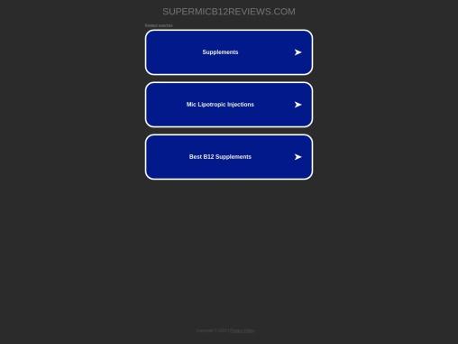 Buy Super MIC B12+ now, Get Slimmer body Results