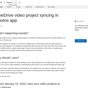 https://support.microsoft.com/en-au/help/4512628/windows-10-onedrive-video-project-syncing-in-photos