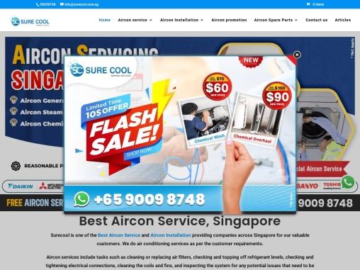 Aircon service company – surecool