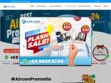 Aircon Promotion Singapore 2021 : Daikin, Mitsubishi, Midea