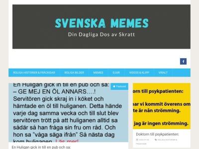 svenskamemes.nu
