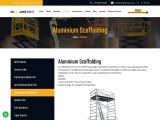 Best Rental service for Lifting Equipment | Aluminum Scaffolding for Hire in Chennai