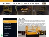 Scissor Lifts Rental in Chennai | Scissor lift on Hire in India