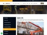 Spider Lift Rental   Boom Lift Hire