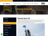 Telescopic Boom | Telescopic Boom Lift | Boom Lift Hire