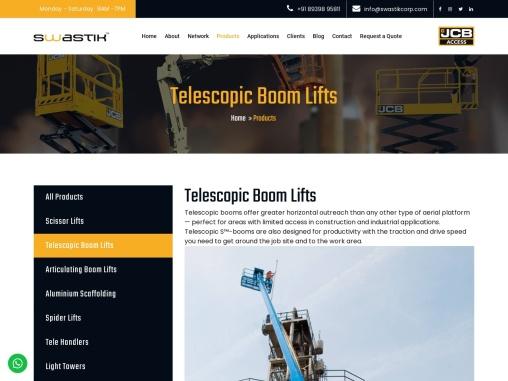 Telescopic Boom Lift   Boom Lift Hire   Boom Lift Price