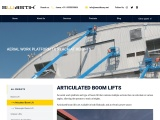 Articulated Boom Lift Hire & Rental in Bangalore | Boom Lifts Rental in India