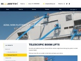 Telescopic Boom Lift Rental in Bangalore | Boom Lift Hire in India