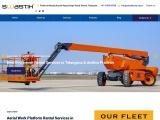 Boom Lifts Rental| Aluminium Scaffolding on hire