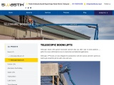 Telescopic Boom Lift for Hire & Sale | Boom Lifts for Rental